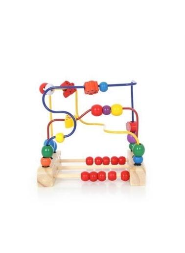 Mashotrend Ahşap Eğitici Koordinasyon Oyunu - 19 x 17 x 14 - Koordinasyon Oyunu Renkli